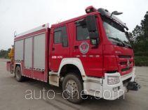 Yunhe WHG5150TXFJY80 fire rescue vehicle