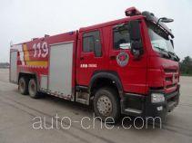 Yunhe WHG5300GXFPM150 foam fire engine
