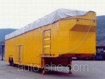 Wangjiang WJ9186TCL vehicle transport trailer