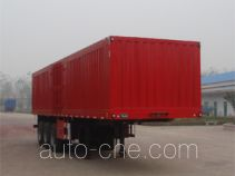 Junwang WJM9408XXY box body van trailer