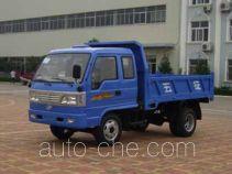 五征牌WL1710PD4A型自卸低速货车