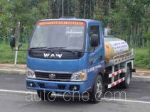 Wuzheng WAW WL2815G1 low-speed tank truck