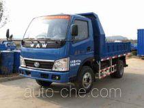 五征牌WL5820D1型自卸低速货车