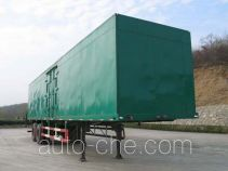 RJST Ruijiang WL9260XXY box body van trailer