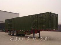 RJST Ruijiang WL9281XXY box body van trailer