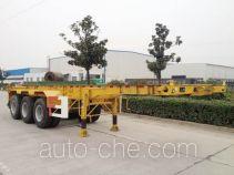 RJST Ruijiang WL9401TWY dangerous goods tank container skeletal trailer
