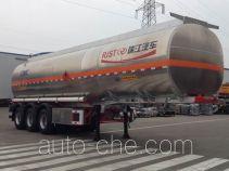 RJST Ruijiang WL9402GYY aluminium oil tank trailer