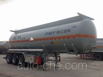 RJST Ruijiang WL9404GFWD corrosive materials transport tank trailer
