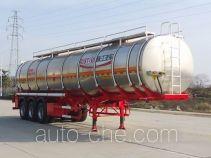 RJST Ruijiang WL9404GRYE flammable liquid aluminum tank trailer
