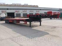 亚中车辆牌WPZ9401TDP型低平板半挂车