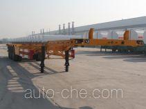 亚中车辆牌WPZ9401TJZG型集装箱运输半挂车