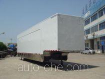 Variable capacity van trailer