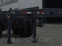 路路通牌WSF9351TWY型危险品罐箱骨架运输半挂车