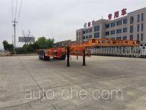 路路通牌WSF9400TJZG型集装箱运输半挂车