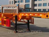 路路通牌WSF9401TJZG型集装箱运输半挂车