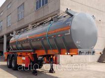 锡宇牌WXQ9290GFW型腐蚀性物品罐式运输半挂车