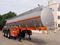 锡宇牌WXQ9352GFW型腐蚀性物品罐式运输半挂车