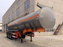 锡宇牌WXQ9401GFW型腐蚀性物品罐式运输半挂车