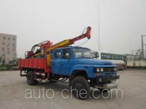 Truck mounted geological engineering drilling rig