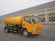 Huangguan WZJ5110GXWE4 sewage suction truck