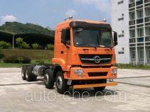 Tiema XC3313BD404 dump truck chassis