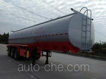Edible oil transport tank trailer