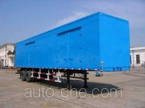 Peixin XH9280XXY box body van trailer