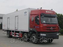 Frestech XKC5250XBW4L insulated box van truck