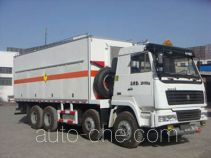 Frestech XKC5280THR emulsion explosive on-site mixing truck