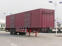 Frestech XKC9330XXY box body van trailer
