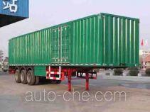 Xinfei XKC9391XXY box body van trailer