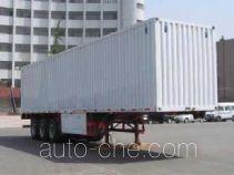 Yuntai XLC9400XXY box body van trailer