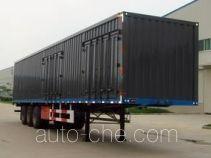 Yuntai XLC9402XXY box body van trailer