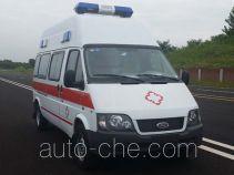 蓝港牌XLG5030XJH5型救护车