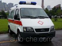 蓝港牌XLG5036XJH5型救护车