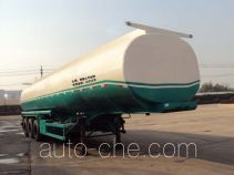 Concrete admixture transport tank trailer