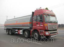 豫新牌XX5317GRYB3型易燃液体罐式运输车