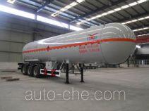 豫新牌XX9400GYQ型液化气体运输半挂车