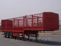 豫新牌XX9404CLX01型仓栅式运输半挂车