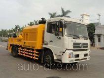厦工牌XXG5120THB型车载式混凝土泵车