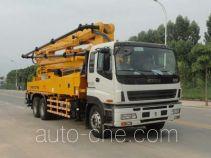 厦工牌XXG5271THB型混凝土泵车