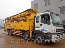 厦工牌XXG5380THB型混凝土泵车