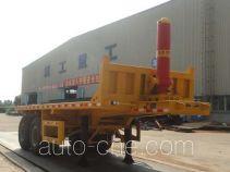 XGMA XXG9355ZZXP flatbed dump trailer
