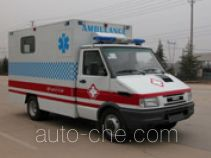 Negative pressure bio isolation ambulance