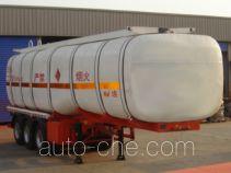 Xingyang XYZ9407GRY flammable liquid tank trailer