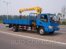 XCMG XZJ5080JSQH truck mounted loader crane