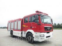 XCMG XZJ5170GXFAP60 пожарный автомобиль тушения пеной класса А