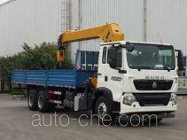 Truck mounted loader crane