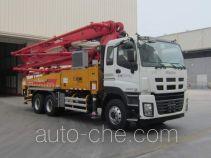 XCMG XZJ5280THBW concrete pump truck