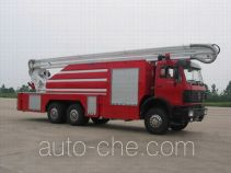 XCMG XZJ5291JXFJP25B high lift pump fire engine